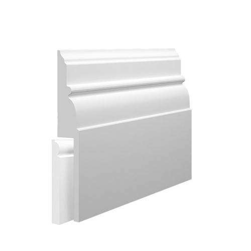 Bella MDF Skirting Board Cover over existing skirting