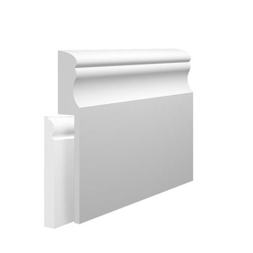 Classic MDF Skirting Board Cover over existing skirting