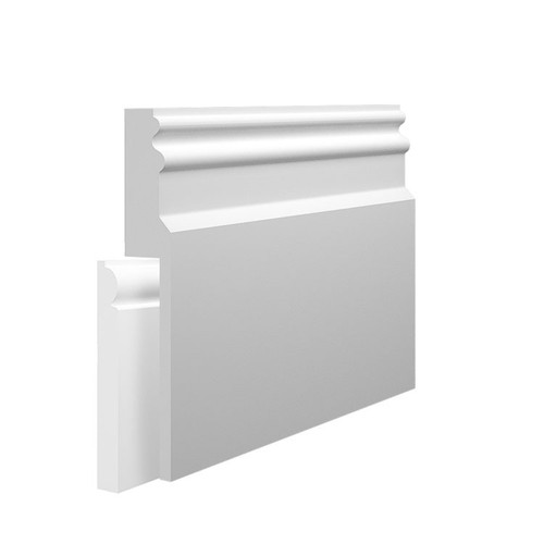 Colonial MDF Skirting Board Cover over existing skirting