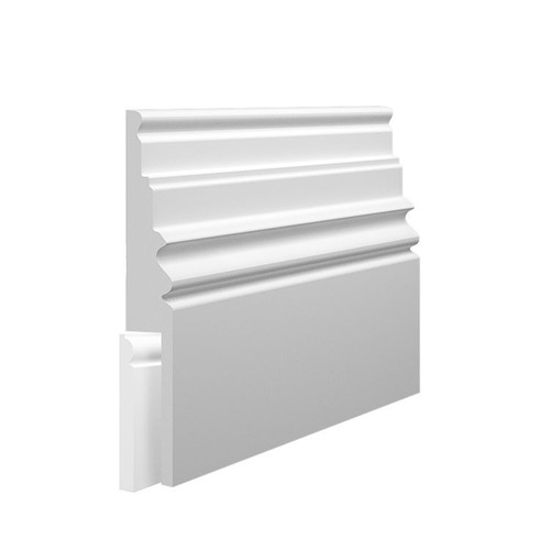 Monarch 2 MDF Skirting Board Cover over existing skirting