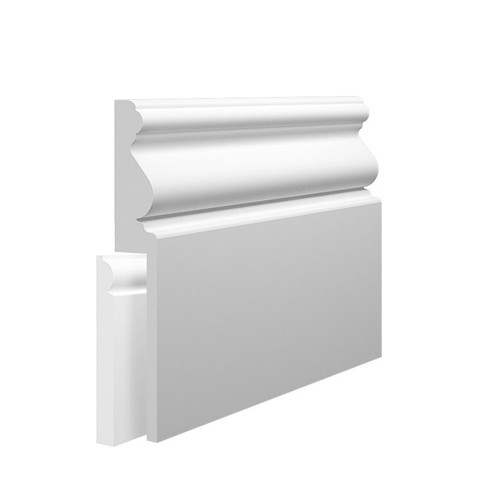 Paris MDF Skirting Board Cover over existing skirting