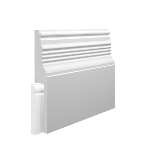 Pioneer MDF Skirting Board Cover over existing skirting