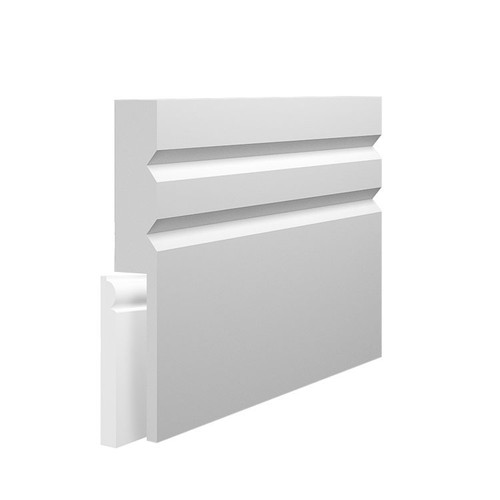Queen MDF Skirting Board Cover over existing skirting