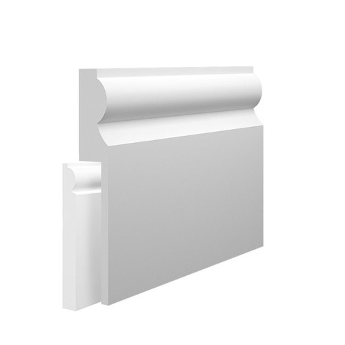 Torus Type 2 MDF Skirting Board Cover over existing skirting