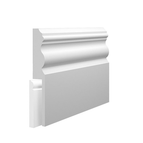 Vienna MDF Skirting Board Cover over existing skirting