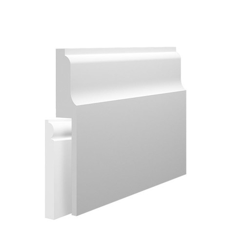 Wave 2 MDF Skirting Board Cover over existing skirting