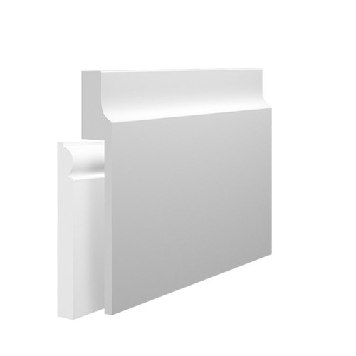 Wave 3 MDF Skirting Board Cover over existing skirting