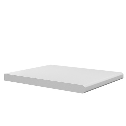 Double Bullnose MDF Window Board - 18mm Thickness