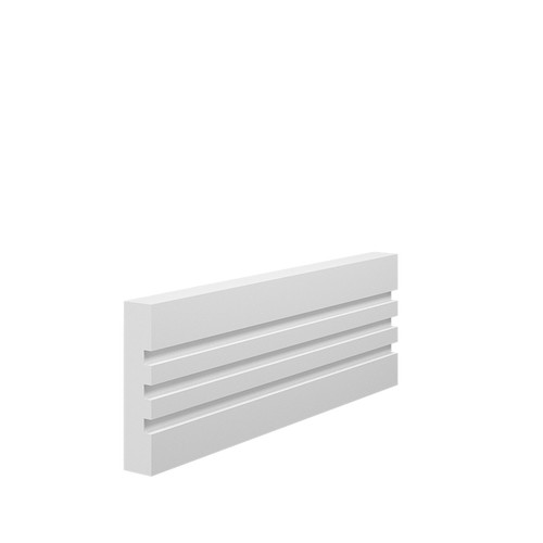 Grooved 3 Square MDF Architrave - 70mm x 15mm HDF
