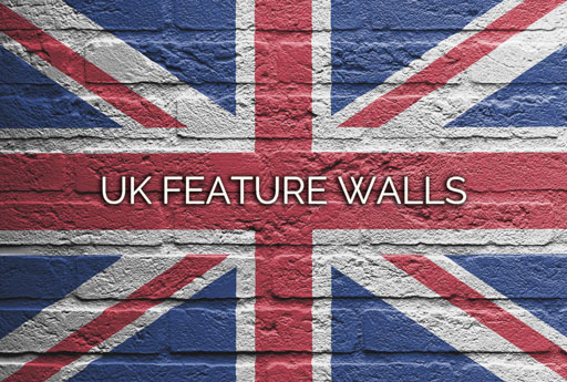 UK Feature Walls - Brick Slips, Brick Veneers, Brick Tiles, Stone Veneers, Split Face Tiles