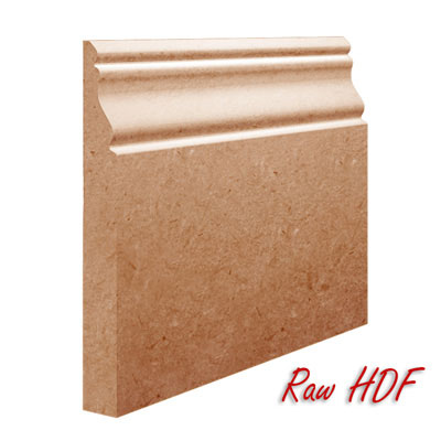 Oscar MDF Skirting in Raw Unprimed HDF