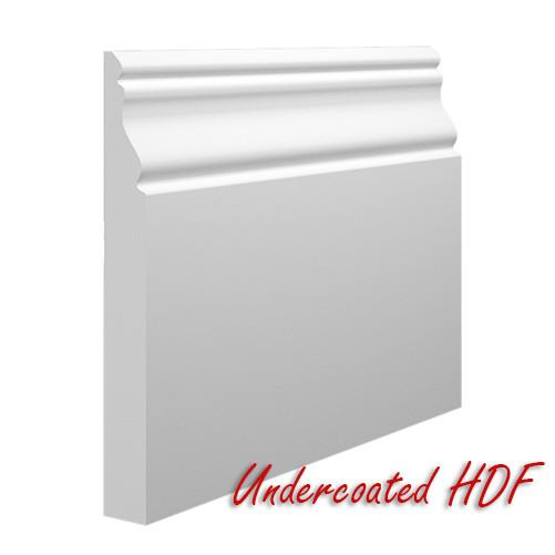 Oscar MDF Skirting Board In Undercoated HDF