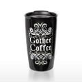 Gothee Coffee Double Walled Travel Mug
