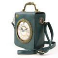 Vintage Clock Rectangular shoulder Bag