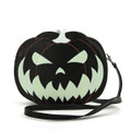 Glow in the Dark Two Faced Jack Purse