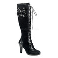 Tall Victorian Lace Boots