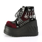 Fishnet Charmed Boots
