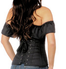 In the Past Off Shoulder Corset