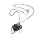 The Witches' Black Heart necklace