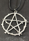 Pentagram of Twigs Amulet