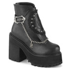 Black Rose Ankle Boots