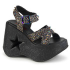 Glitter Star Studded Sandals