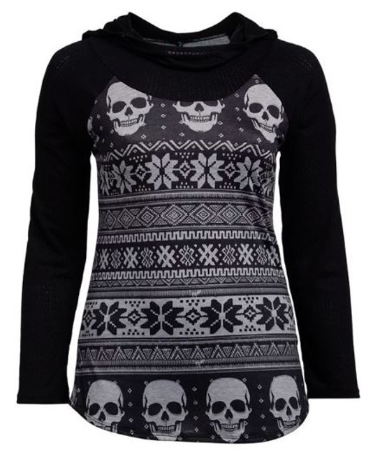 A cold death hoody front