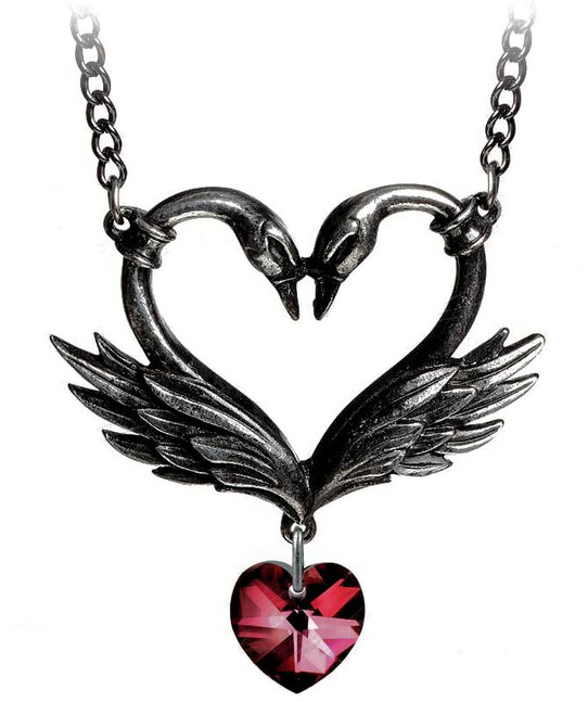 Black Swan Event Necklace