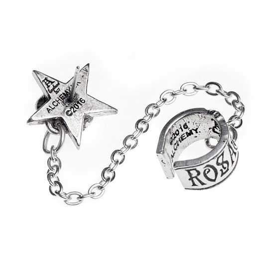 Rosa Nocta Ear cuff