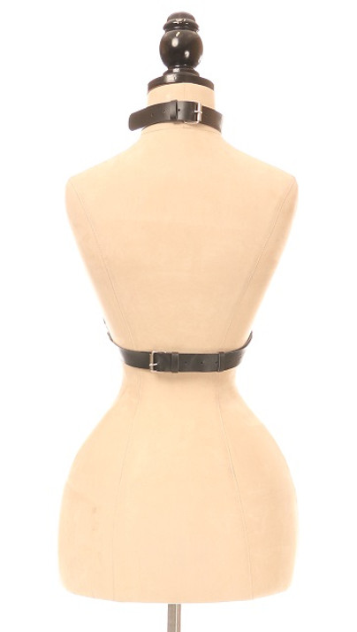 X Mark Faux Leather Body Harness