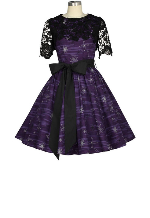 out of this world purple dress