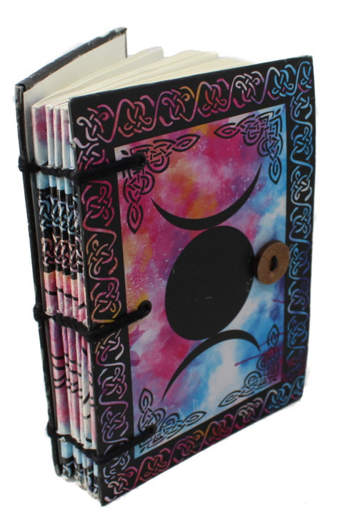Triple Moon 100% Recycled Journal