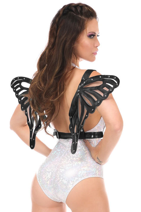 Black Butterfly Body Harness