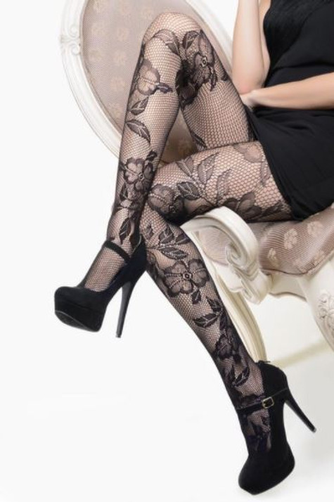 Lace and Roses fishnets
