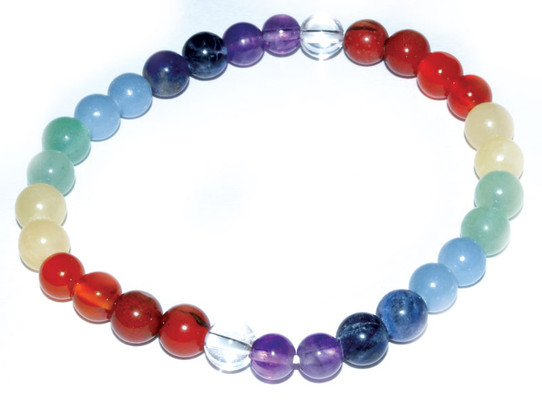 Chakra/Pride Gemstone Bracelet