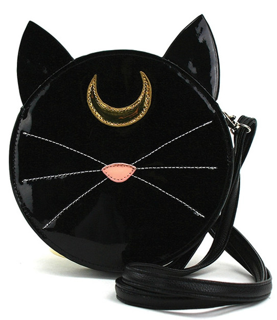 Black Cat Familiar Purse