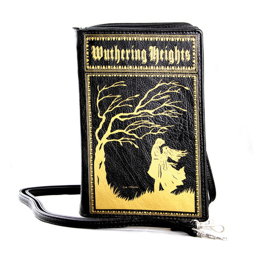 Wuthering Heights Book style Purse