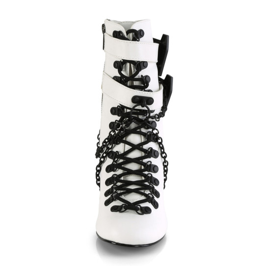 White Chained in my Coffin Boots