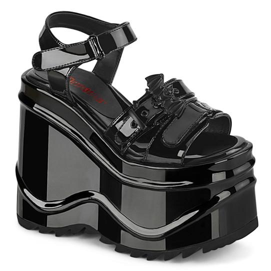 Patent Batform Sandals
