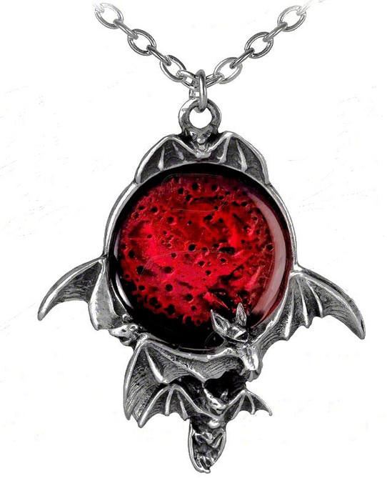 Killing moon gothic necklace