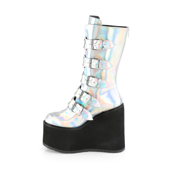 I Heart Silver Boots