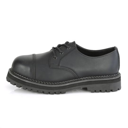 Steel Toe Vegan Leather Oxfords