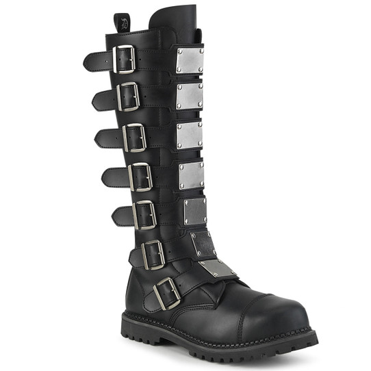 7 Buckle Riot boots