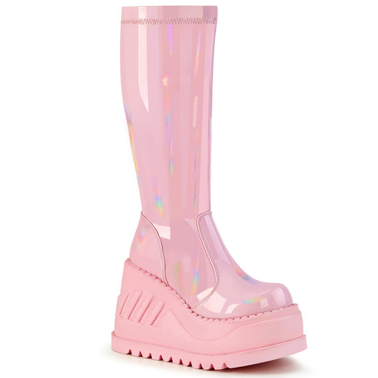 Pink Stomp on my Heart boots