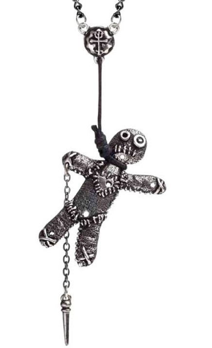You'll be Sorry VooDoo Necklace
