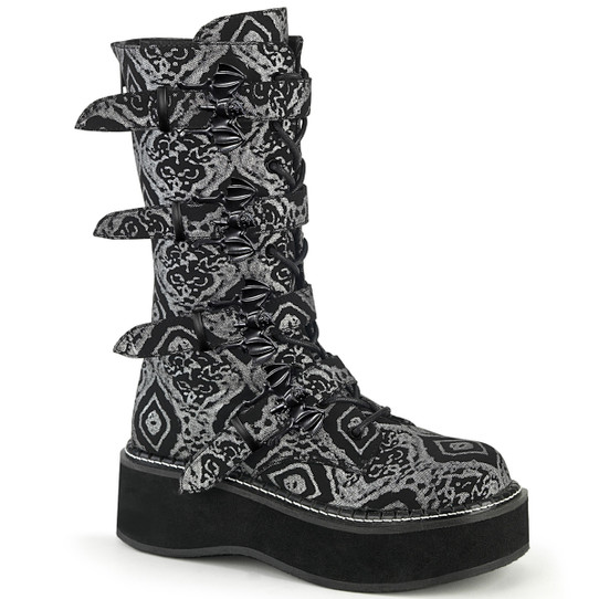 Deadly Damask  Batty Boots