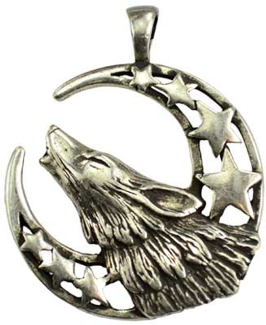 Howl at the Moon necklace
