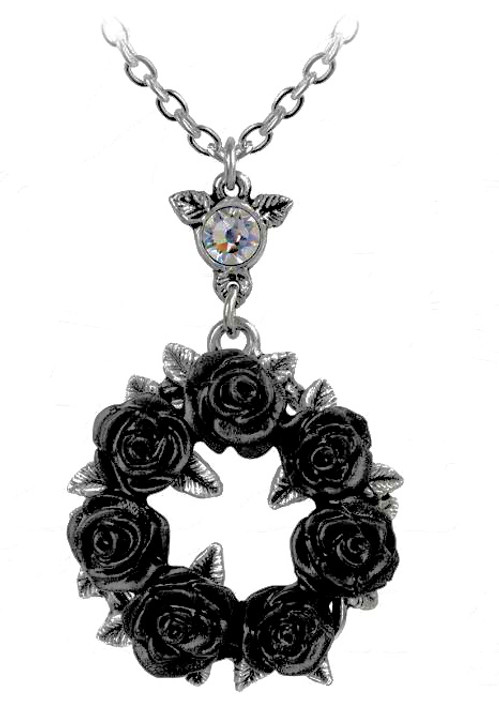 ring around the black roses necklace