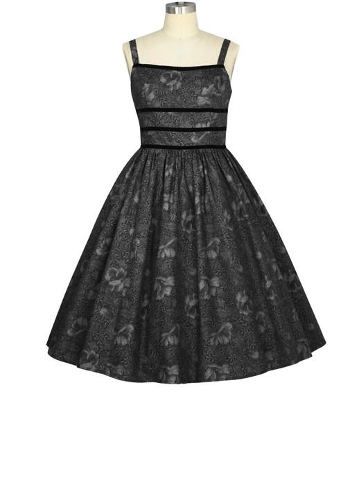 gray shadows dress