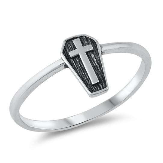 The Vampire's Rest Sterling Ring